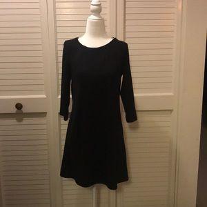 H&M black cotton dress